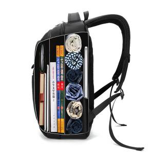 """15.6"""" Laptop Compartment Travel Backpack Big Capacity Waterproof Oxford Bag For Men"""