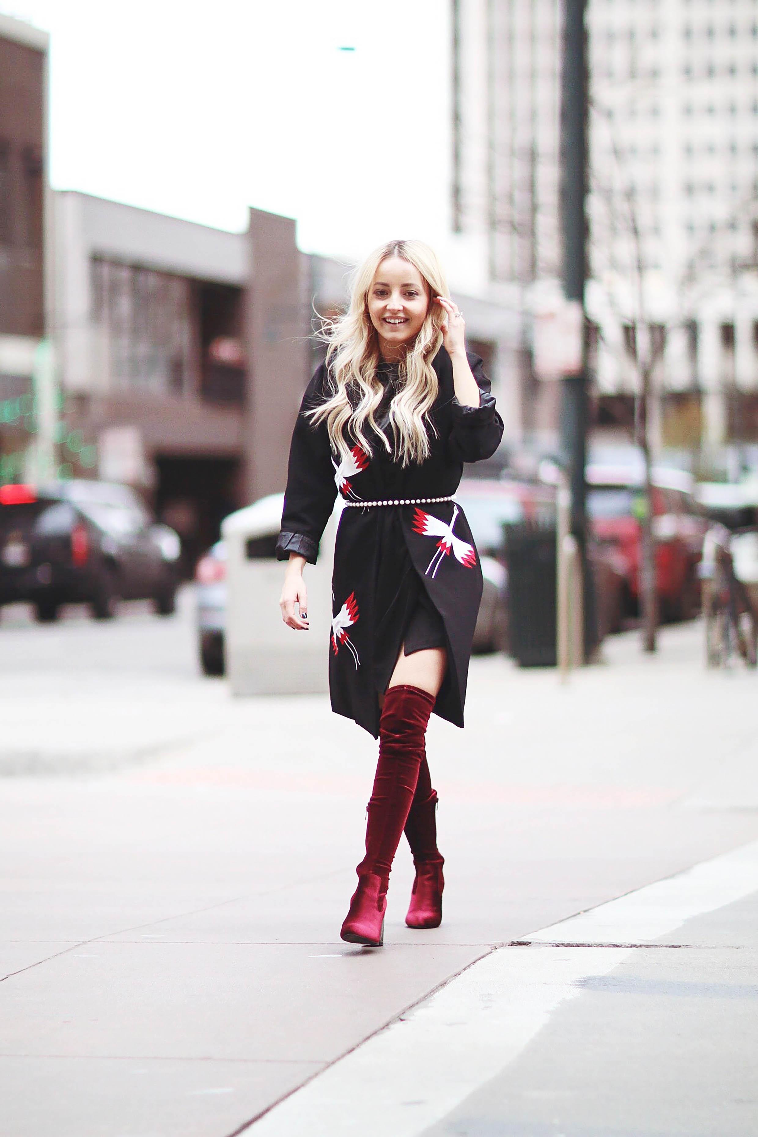 Alena Gidenko of modaprints.com talks about how to wear a coat as a dress