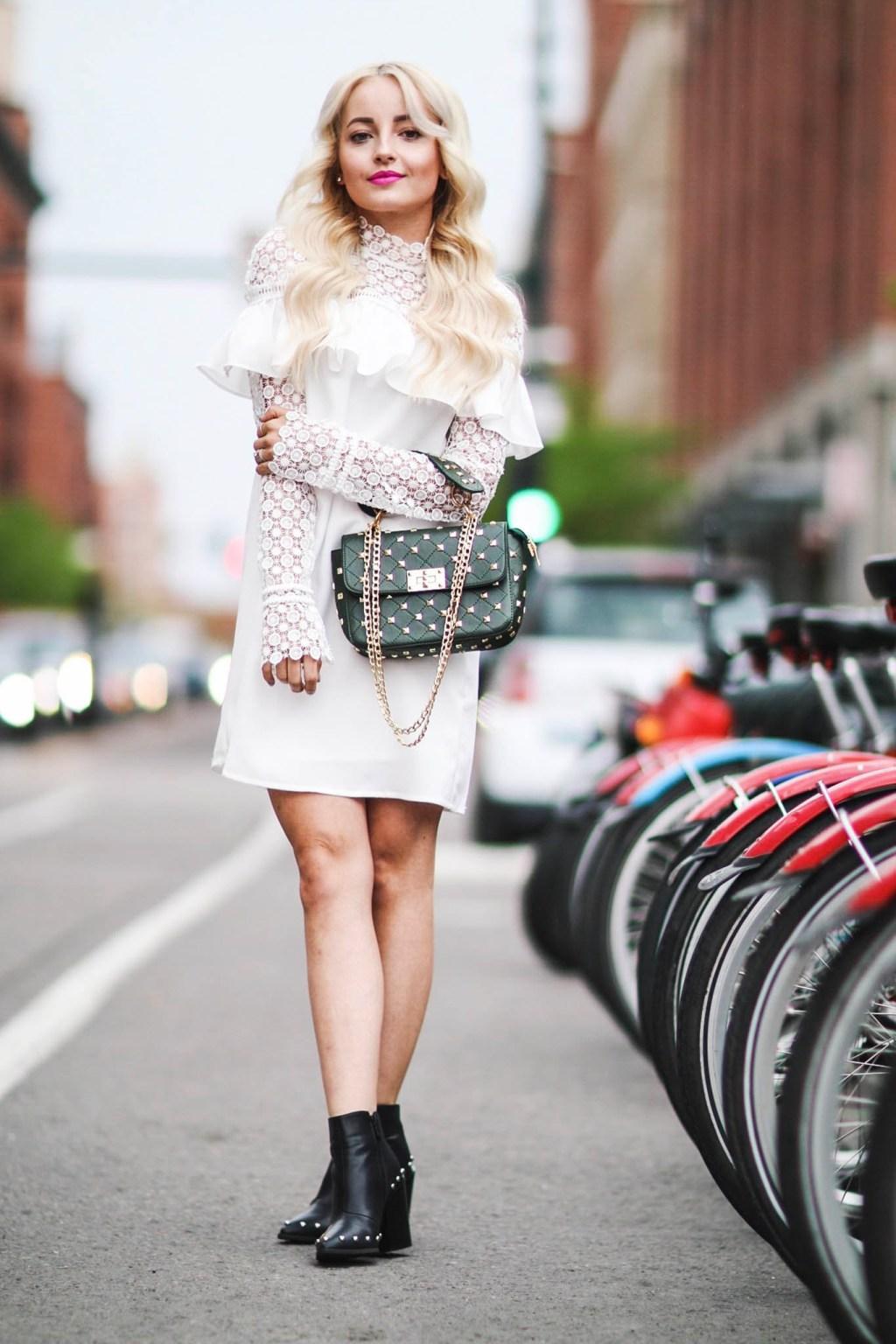 Alena Gidenko of modaprints.com shares her favorite white dresses for Spring and Summer