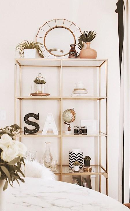 Alena Gidenko of modaprints.com shares her home decor and how she decorates a small apartment