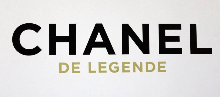 Modarium beeld van de entree van de Chanel tentoonstelling