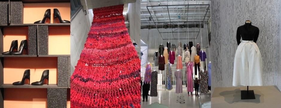 Modarium collage van beelden van het tijdelijk modemuseum 06