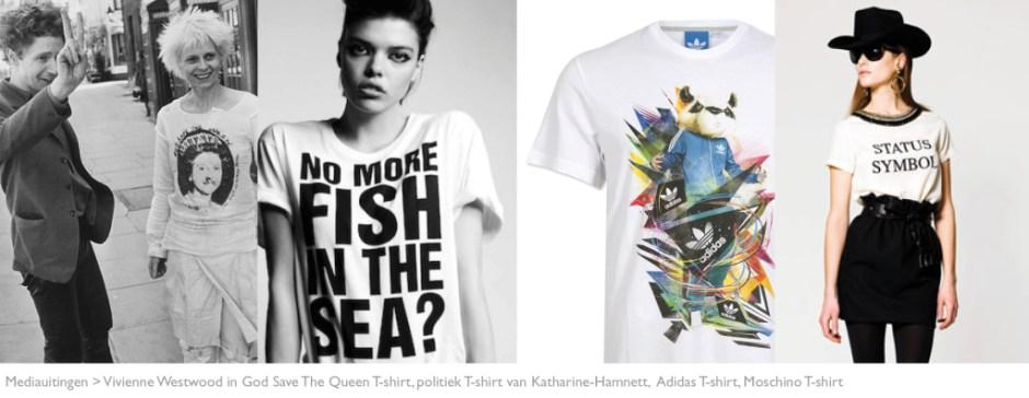 MODARIUM beeld van mediauitingen modebranche T-shirt print 06
