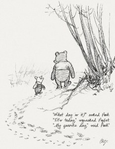 afbeelding van Winnie de Pooh Lievelingsdag