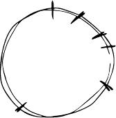 Modarium illustratie van een cirkel als klok die de tijd op gevoel aangeeft