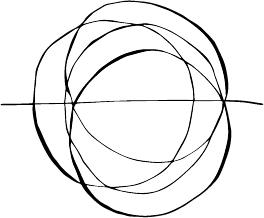Modarium illustratie van een cirkel als multispace ruimte als trend