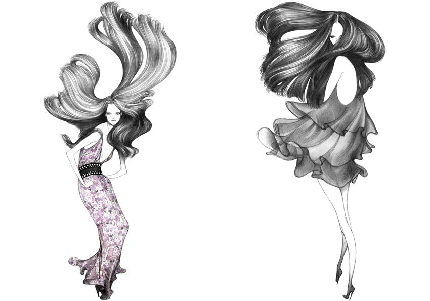 Modarium beeld van The Age of Feminine Drawing binnenwerk 08
