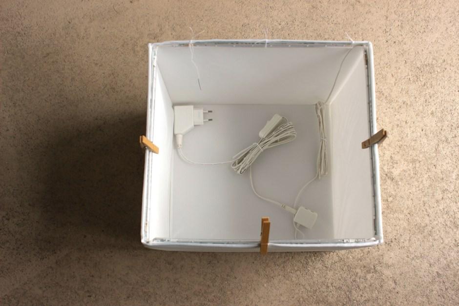 MODARIUM mini studio lampjes met knijpers