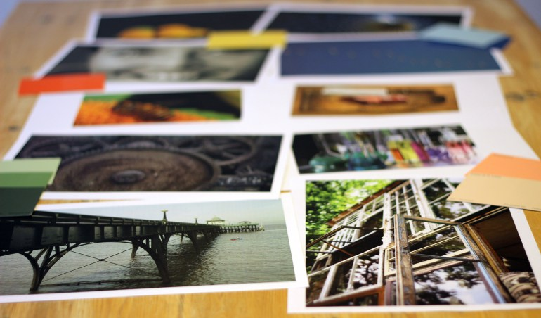 Modarium beeld aantekeningen boekje bij cursus Idee, Concept, Moodboard, Presentatie uitgelicht