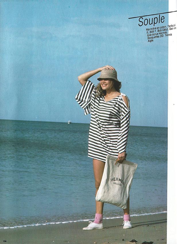 1983 Mai Depeche mode special pret-a-porter No 28 label prix pag 104