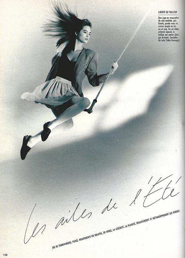 1988 Maart Marie Claire Bis M2516 Les ailes de l'été pag 148