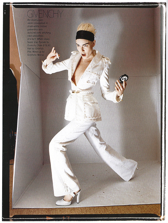 2003 May Tatler UK Volume 298 Nr 5 Haute Couture pag 160