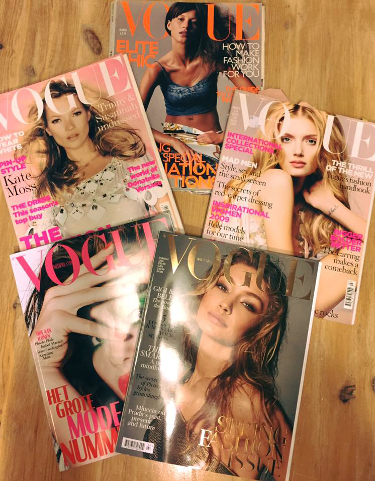 modarium magazine collection Vogue omslagen 4 maart issues