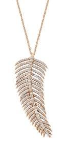 zarafetin altın ve pırlanta ile süslenmiş halini, 'Dreamy feathers' koleksiyonu ile bizlere ulaştıran Charms Company.