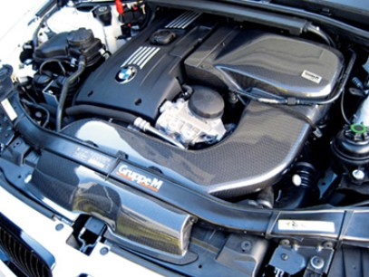Gruppe M Ram Air Intake System Installed