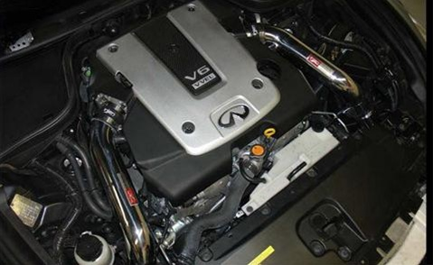 Injen Cold Air Intake System for Infiniti G35/G37 Installed
