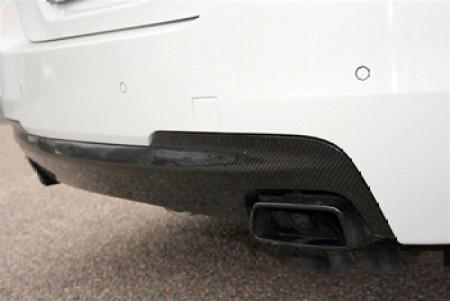 BMW F10 5 Series M Tech Carbon Fiber Rear Diffuser Close Up