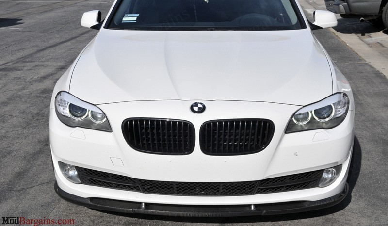 Hamann Style CF Front Lip BMW F10 5 Series Front View