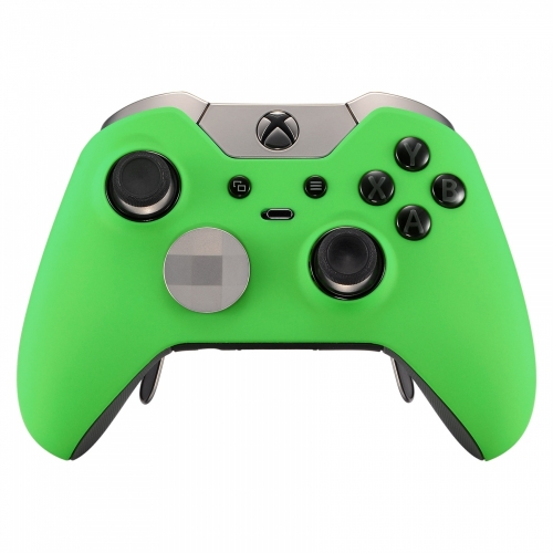 SOFT TOUCH GREEN XBOX ONE ELITE MODDED CONTROLLER