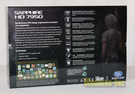 Sapphire HD 7950  OC