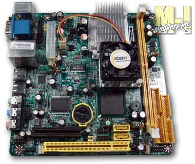 Jetway NC92 Series Mini-ITX Motherboard