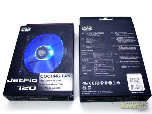 Cooler Master JetFlo 120mm LED Fan box