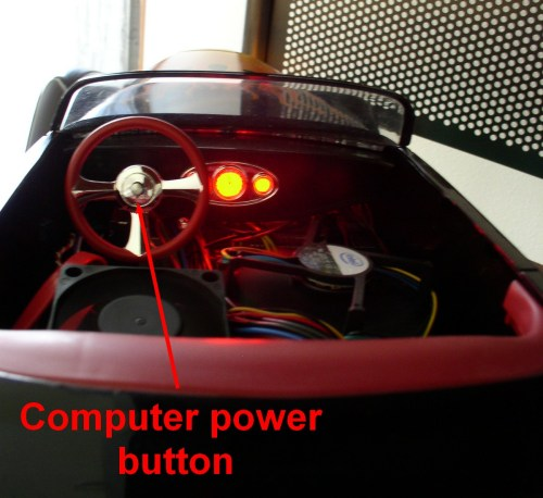 Boydster Hot Rod PC Start Button