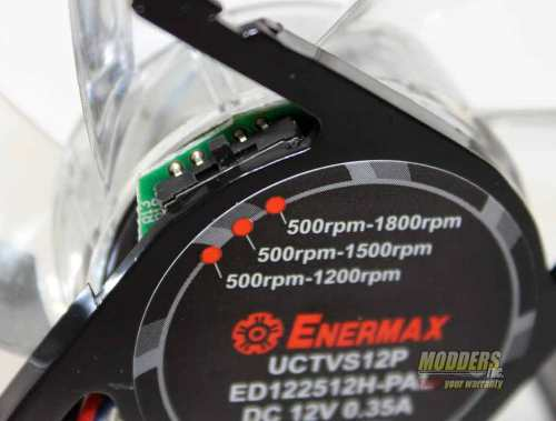 Enermax T.B.VEGAS SINGLE 120 mm Fan APS