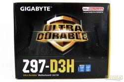 Gigabyte Z97-D3H Box Front
