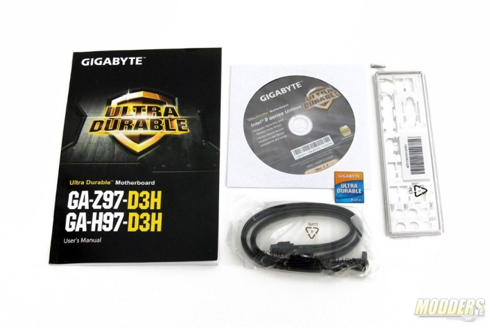 Gigabyte Z97-D3H Accessories