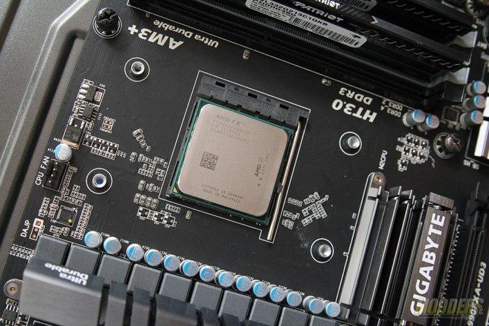 AMD FX-9590 Installed