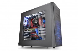 Thermaltake Versa H34 mid-tower chassis have enough space for high-end hardware and expansion