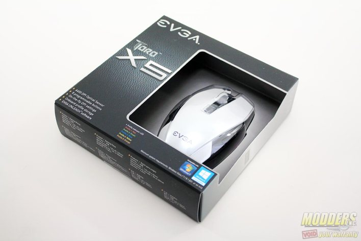EVGA Torq X5 Packaging