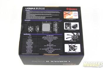 Enermax Liqmax II 120s back of box