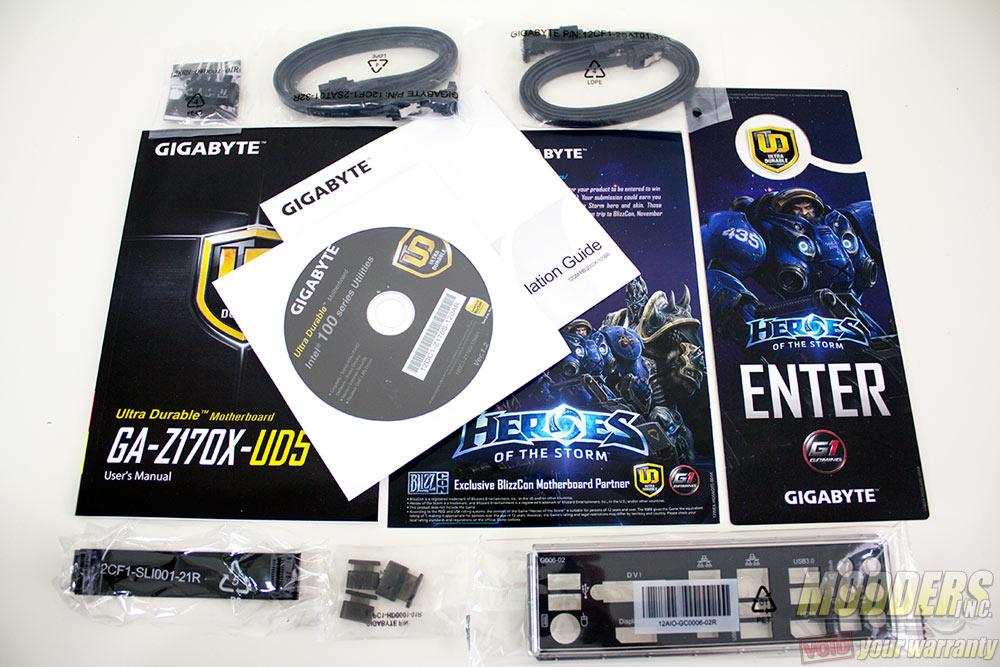 Gigabyte Z170X-UD5 Accessories