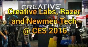 creativelabs @ CES 2016