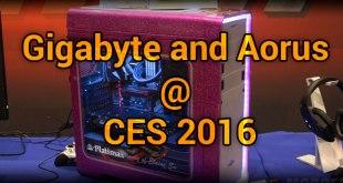 Gigabyte and Aorus @ CES 2016