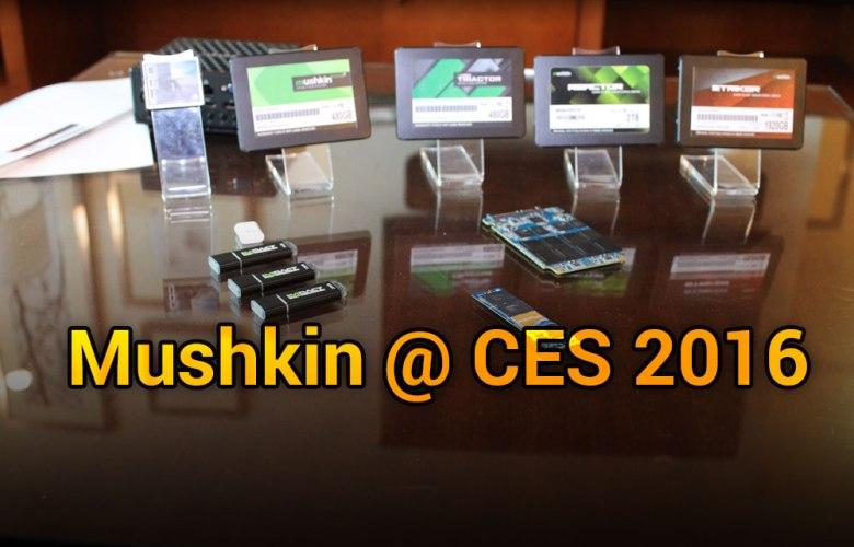 Mushkin @ CES 2016