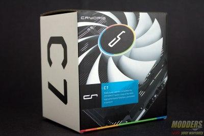 CRYORIG C7 CPU Cooler Packaging