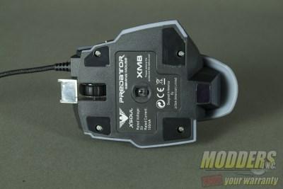 XM8-Mouse Bottom screws