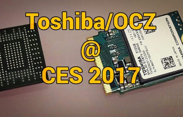 Toshiba OCZ @ CES 2017