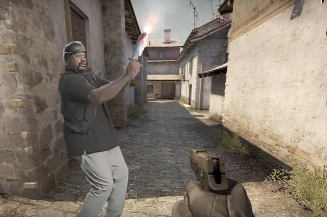 Shaq in CS:GO commercial