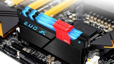 GeIL Unveils EVO X DDR4 RGB LED Kit