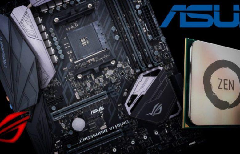 ASUS Previews RoG Crosshair VI Hero AM4 Motherboard Features