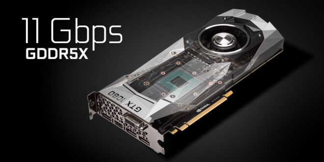 Faster Memory GeForce GTX 1080 and GTX 1060 Graphics Cards Launched