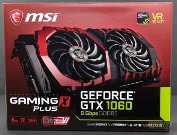 MSI GeForce GTX 1060 GAMING X PLUS