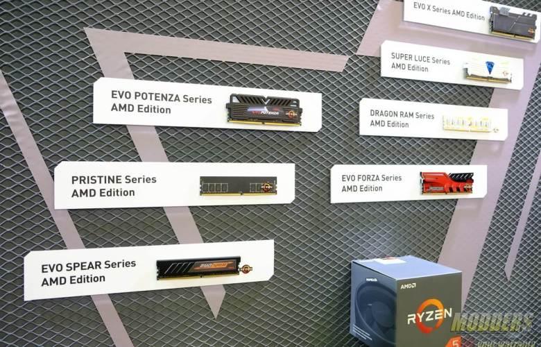 GEIL Shows Off Entire Line of Ryzen Ready DDR4 Memory @ Computex 2017