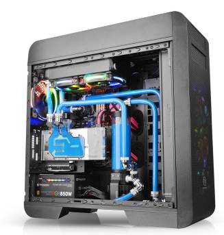 Thermaltake Core V71 Tempered Glass Edition Full Tower Chassis- Superior Ventilation