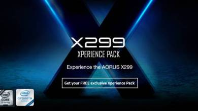 Gigabyte Offers Free XPerience Pack with AORUS X299 Purchase