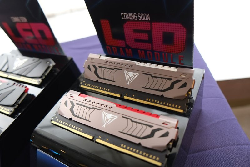 Patriot Teases DRAM with LED, Gaming Peripherals and More @ Computex 2017